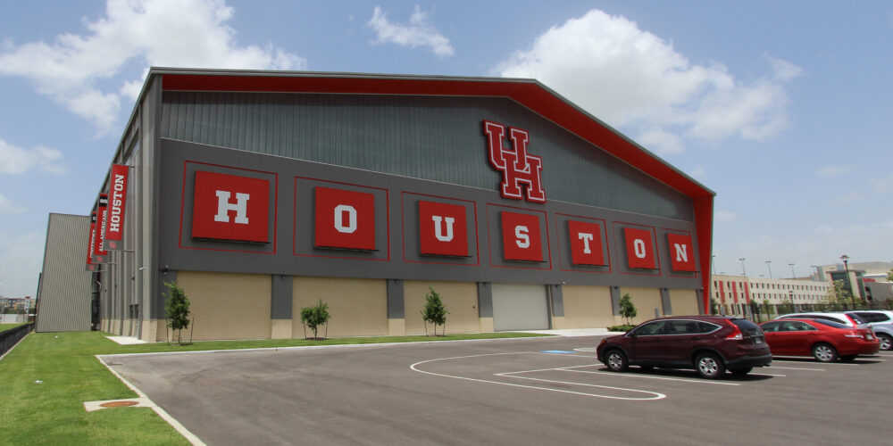 University of Houston Indoor Football Practice Facility